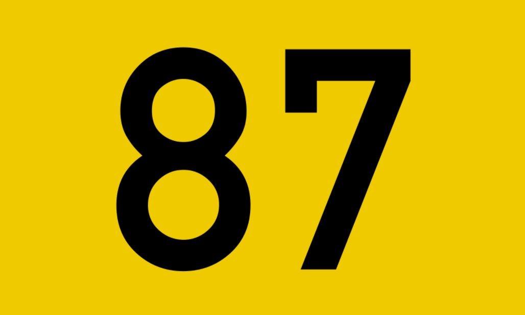El número angelical 87