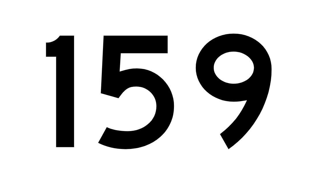 El número angelical 159