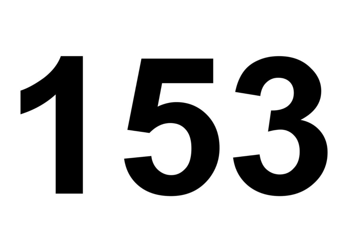 El número angelical 153