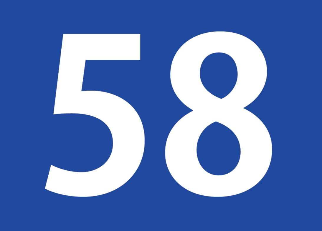 El número angelical 58