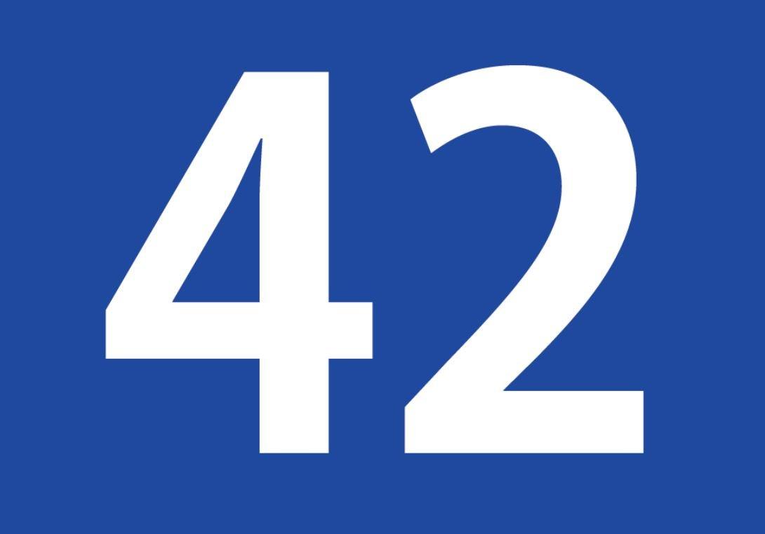 El número angelical 42
