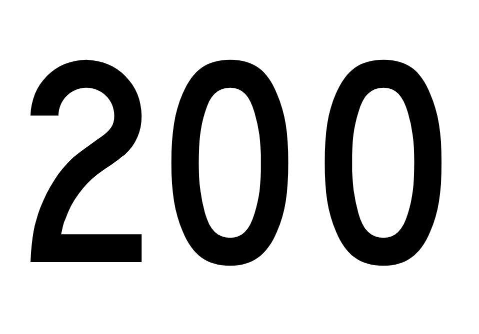 El número angelical 200