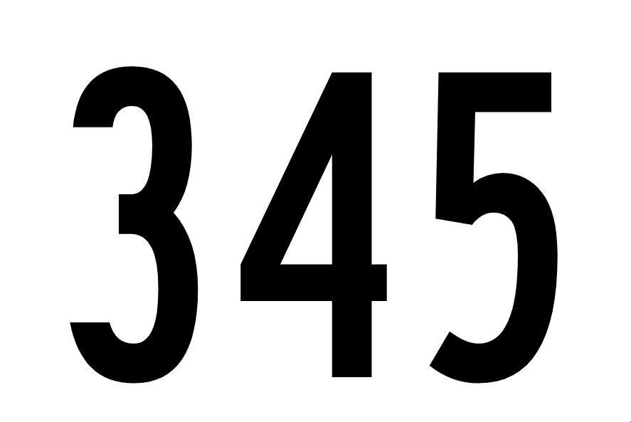 El número angelical 345