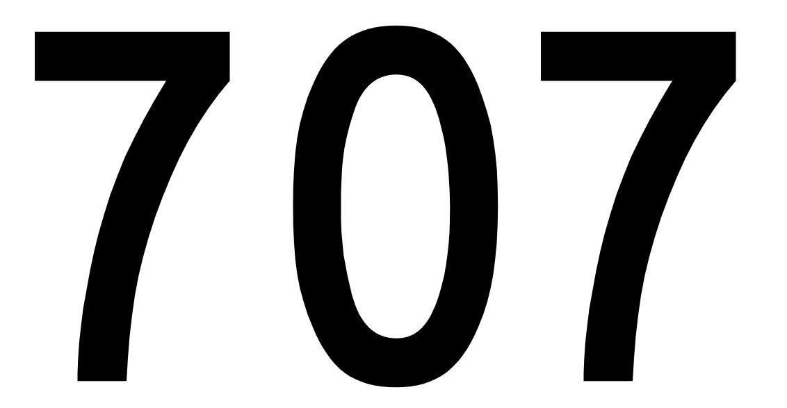 El número angelical 707