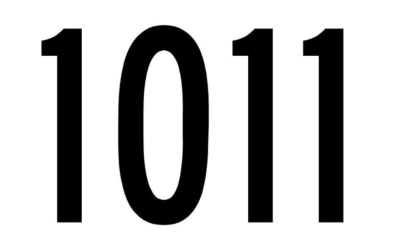El número angelical 1011