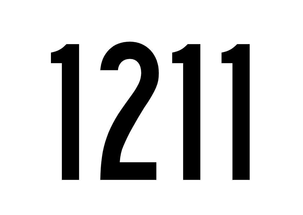 El número angelical 1211