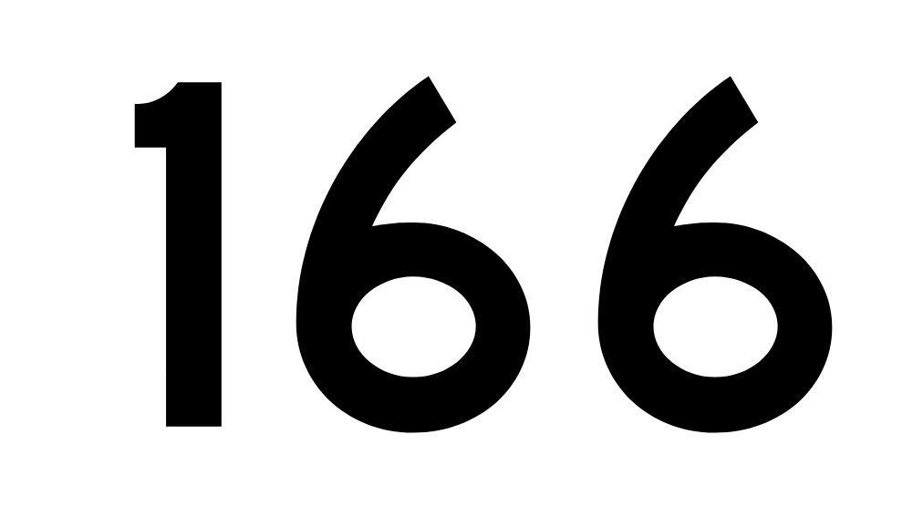 El número angelical 166