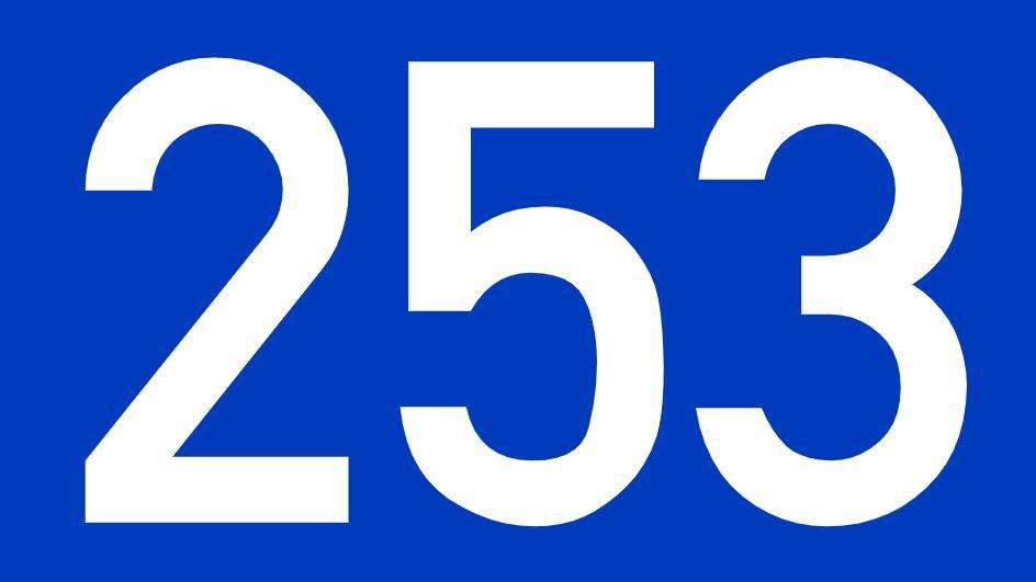 El número angelical 253