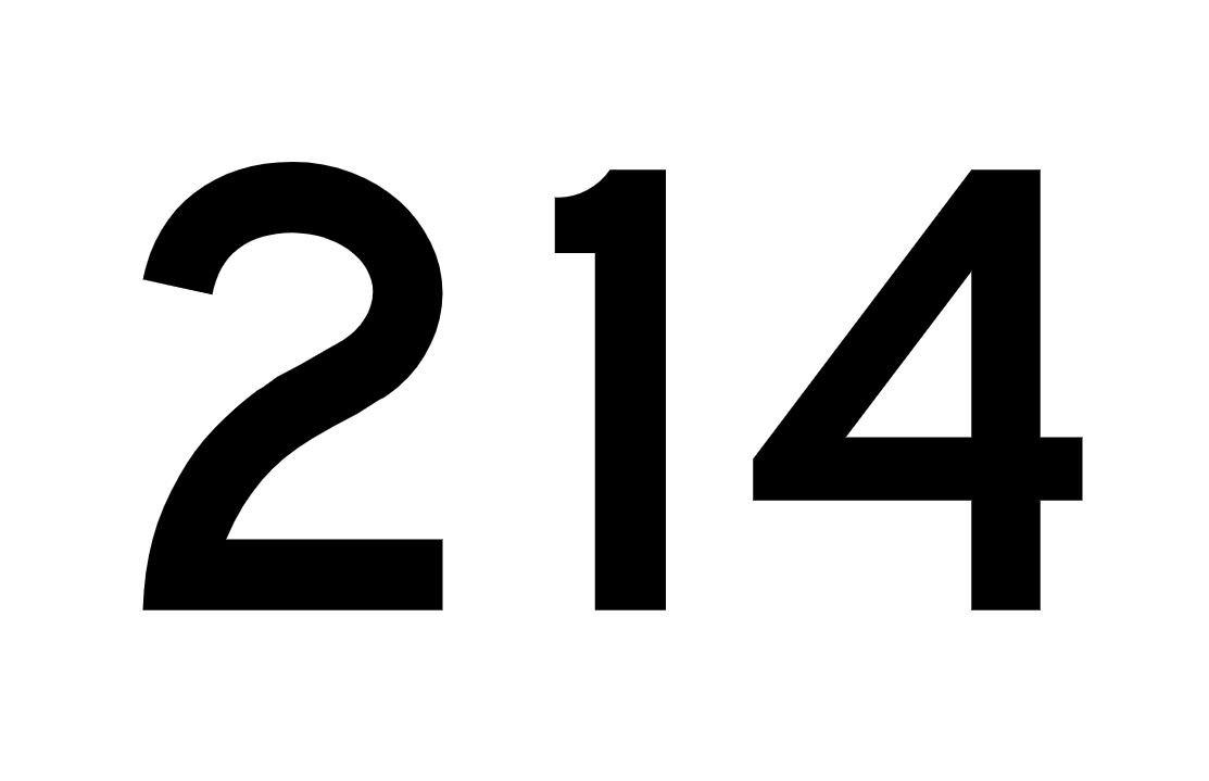 El número angelical 214