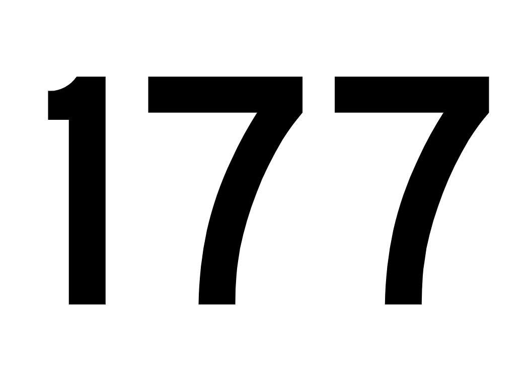 El número angelical 177