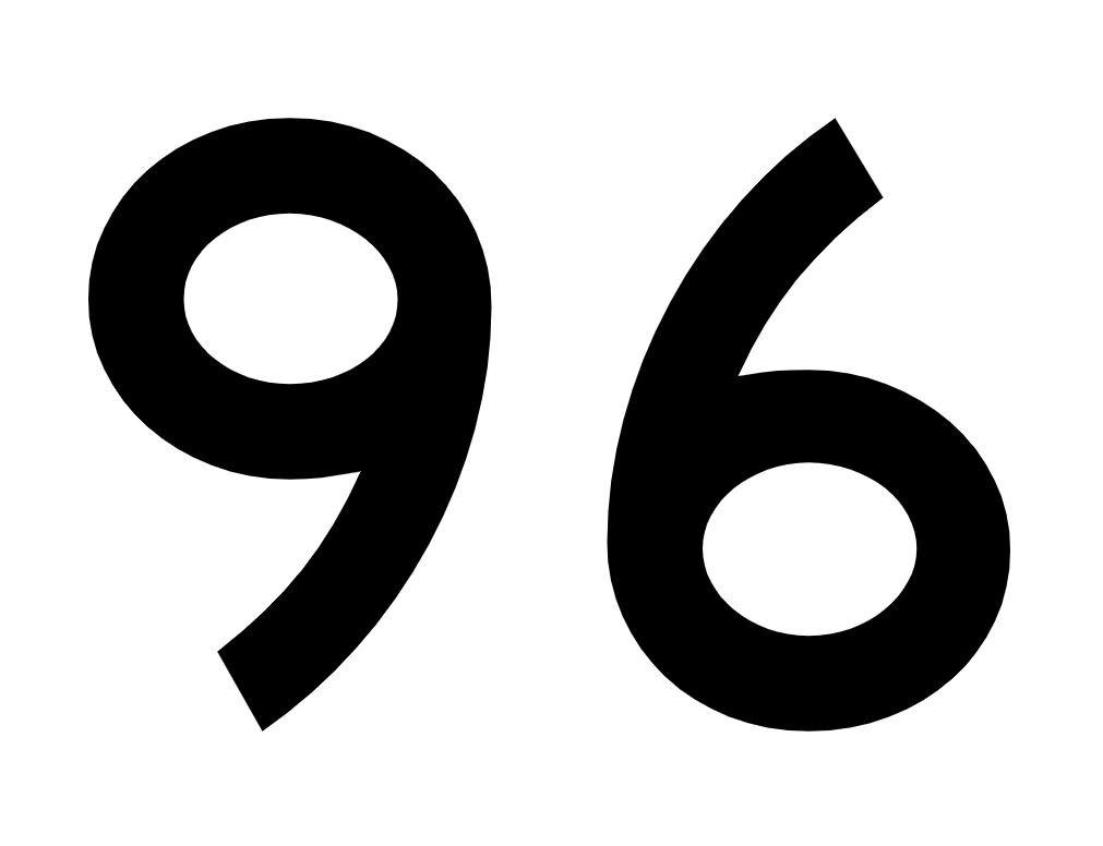 El número angelical 96