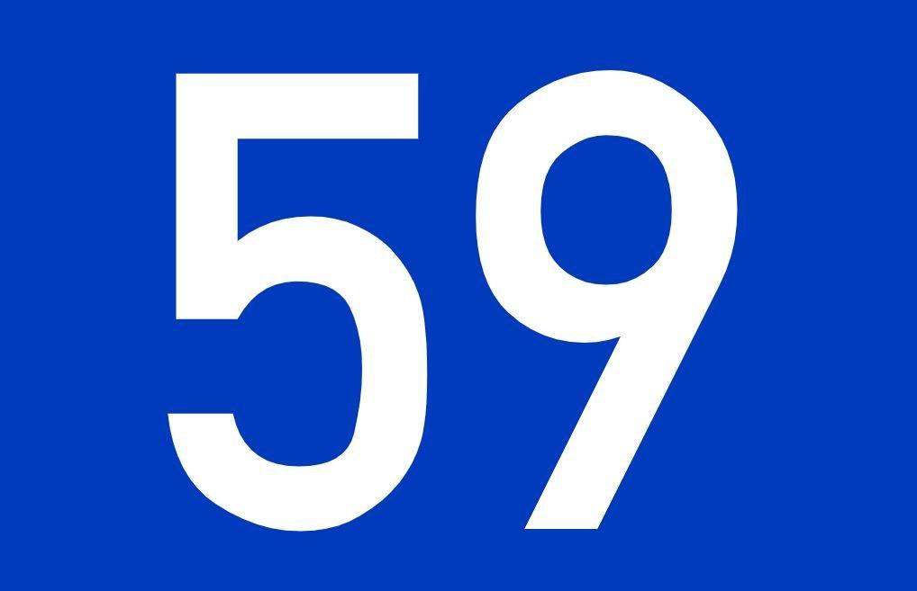 El número angelical 59