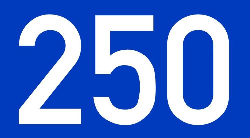 El número angelical 250