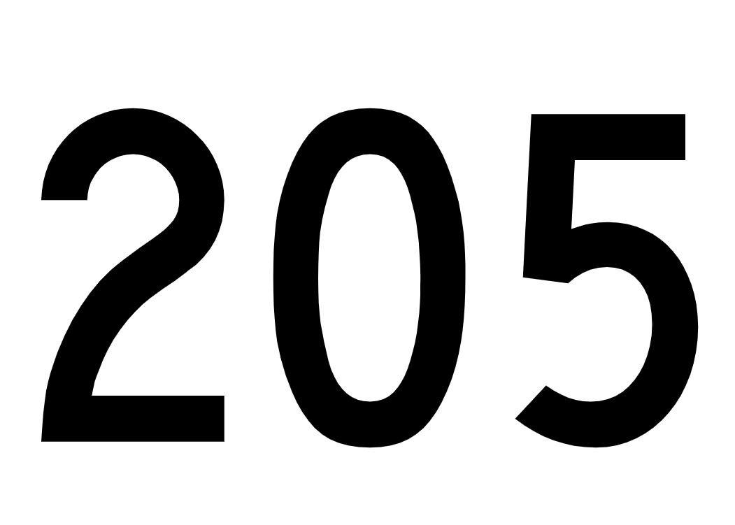 El número angelical 205