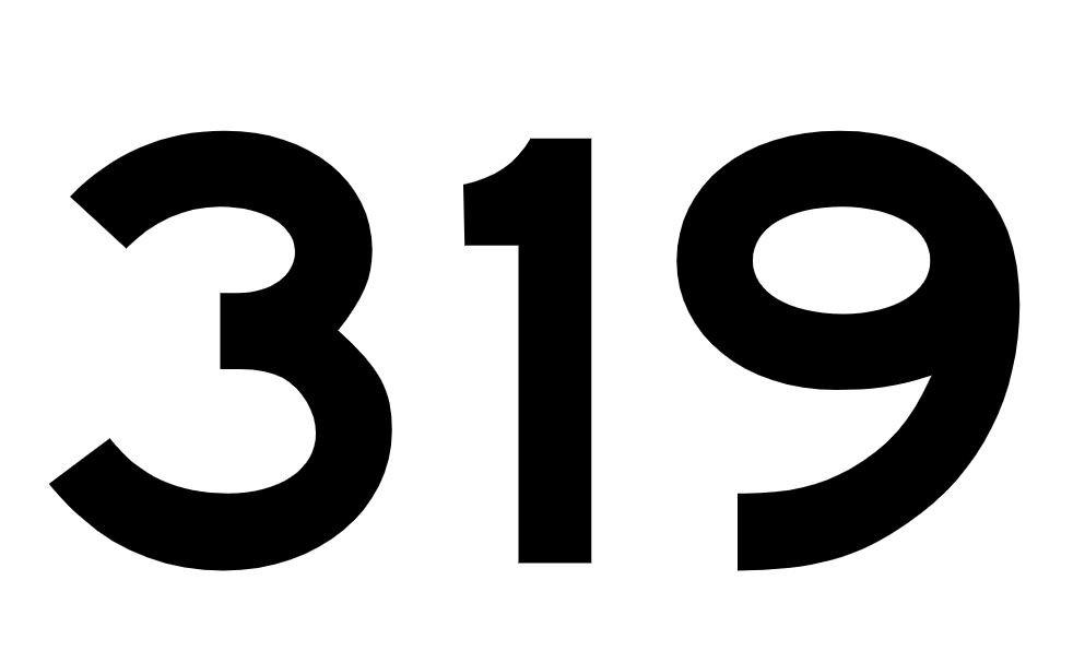 El número angelical 319