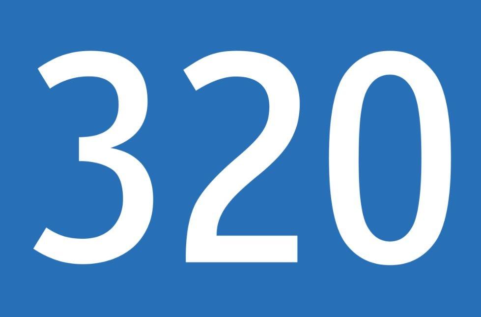 El número angelical 320