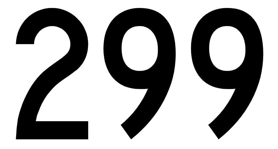 El número angelical 299