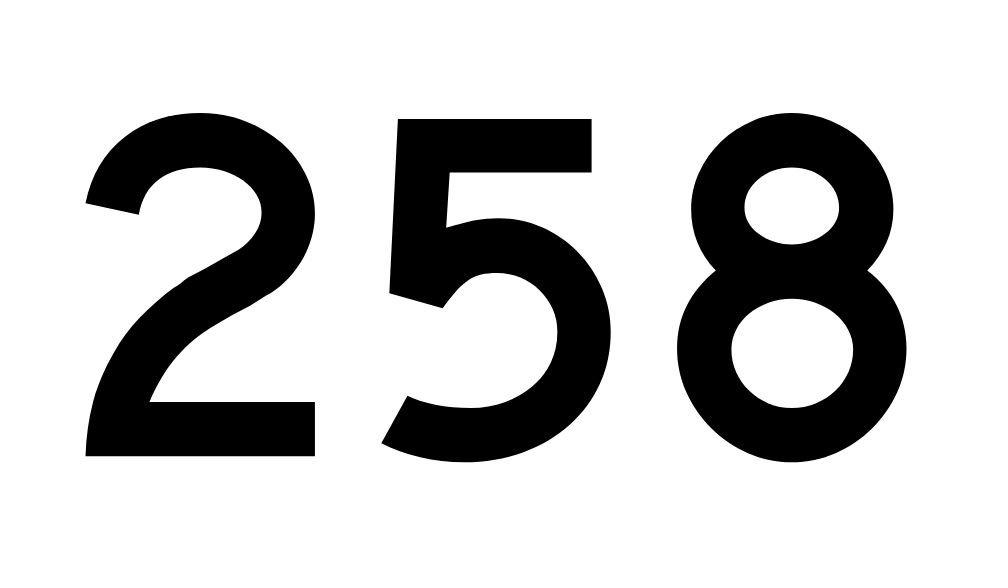 El número angelical 258