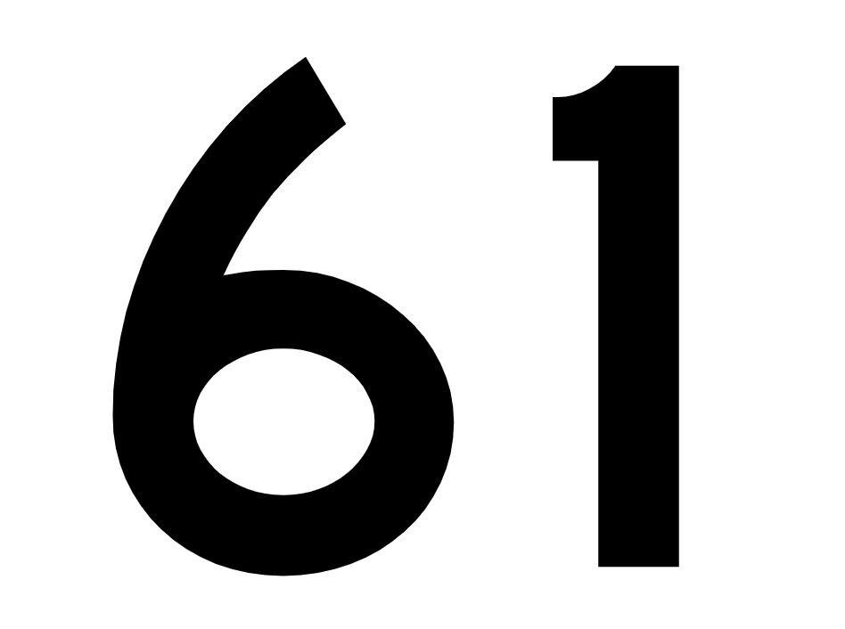 El número angelical 61