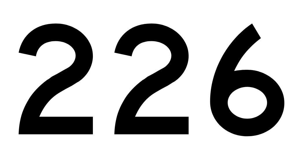 El número angelical 226