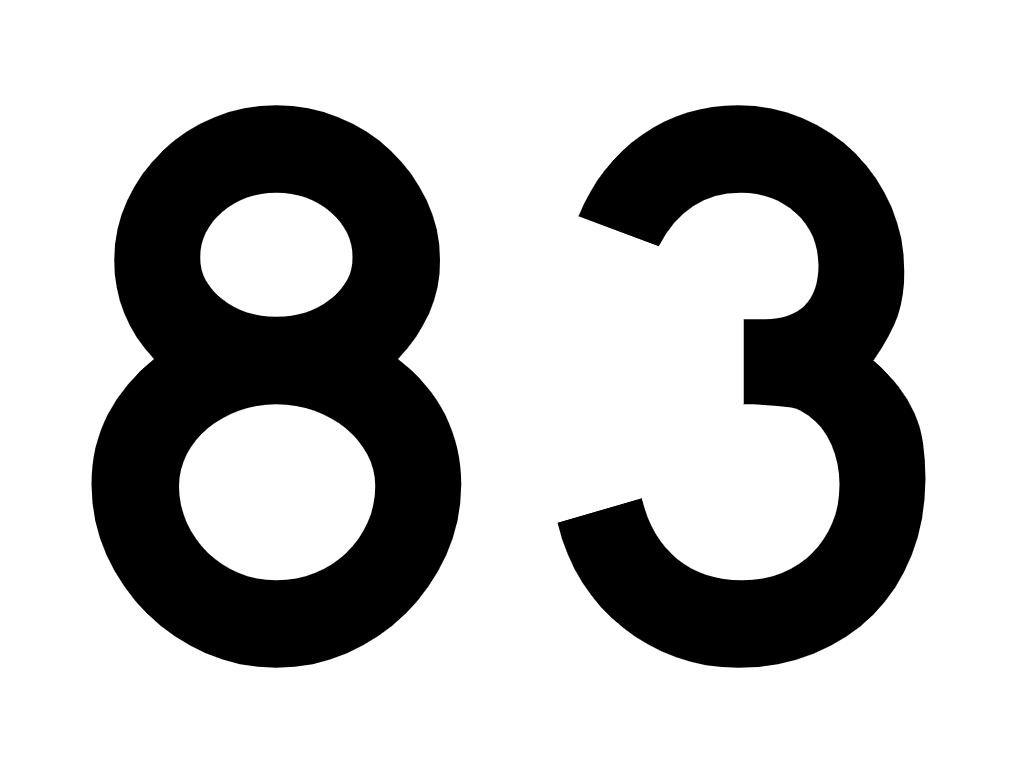 El número angelical 83