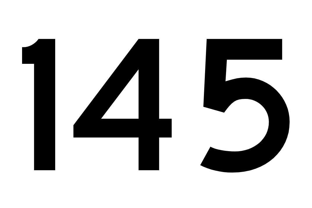 El número angelical 145