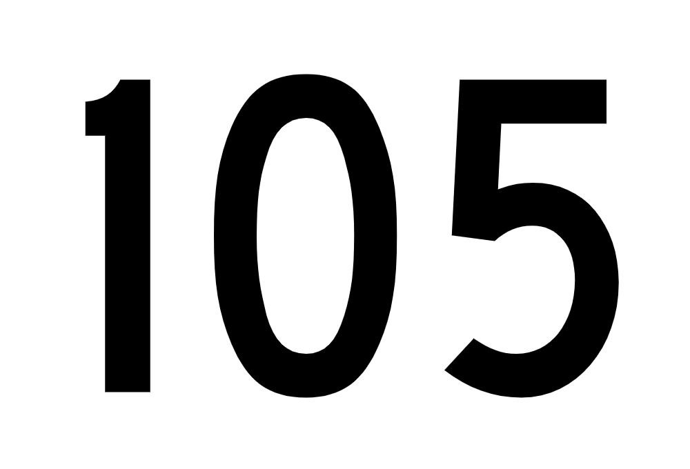 El número angelical 105