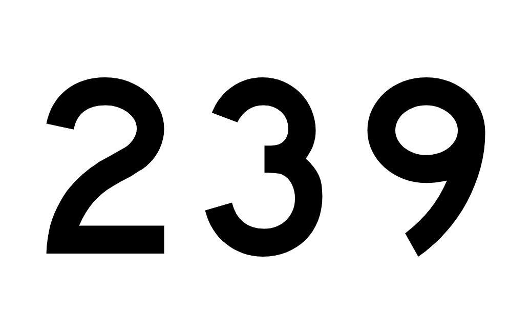 El número angelical 239