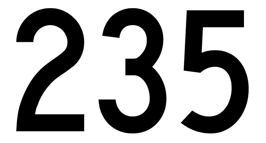 El número angelical 235