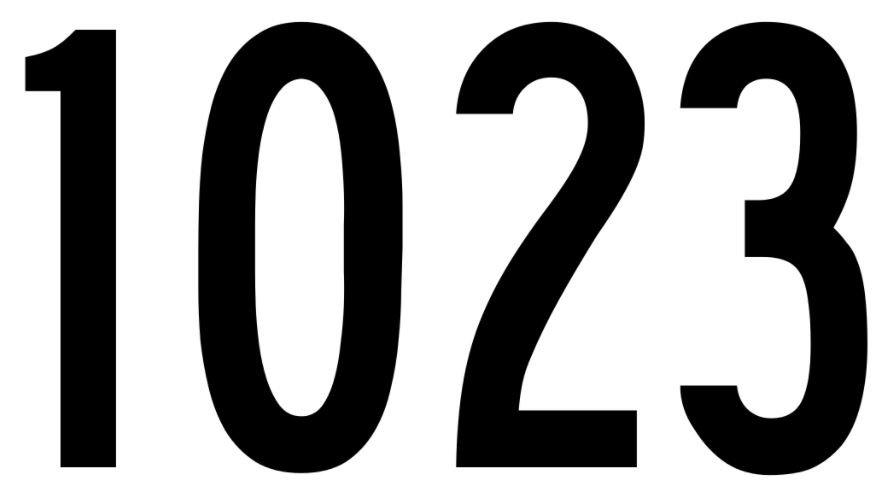 El número angelical 1023