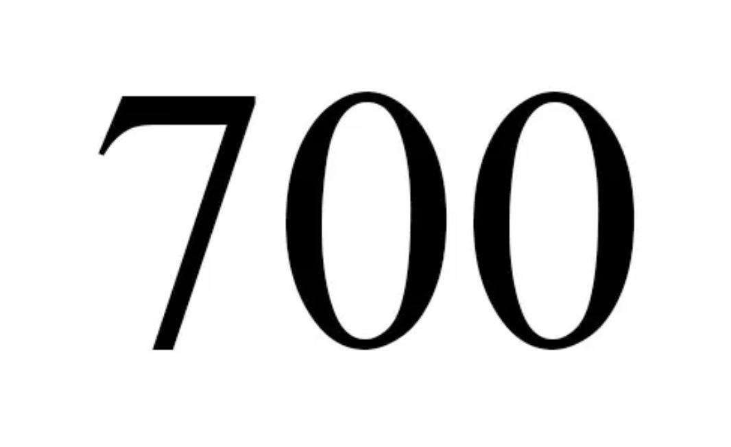 El número angelical 700