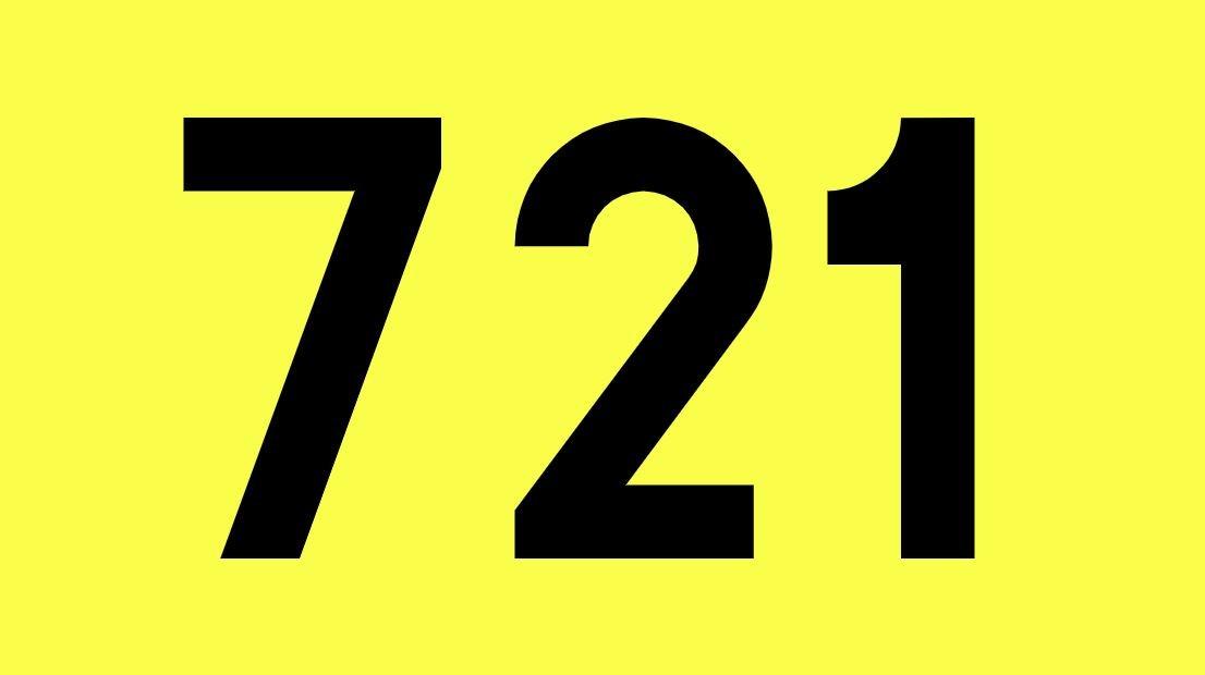 El número angelical 721