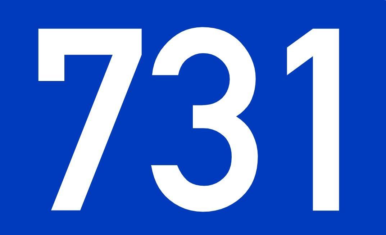 El número angelical 731