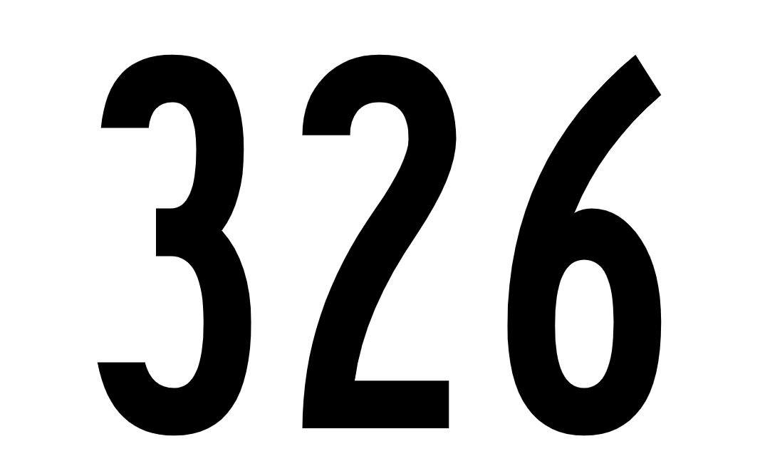 El número angelical 326