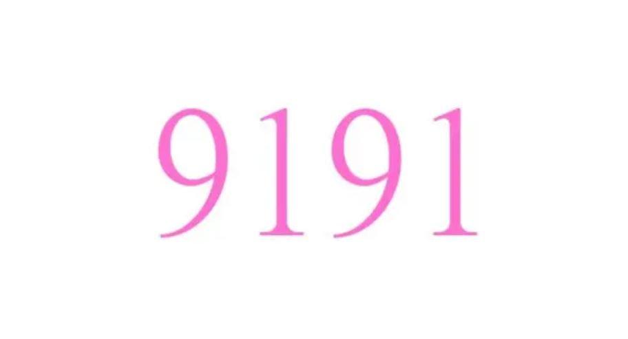 El número angelical 9191