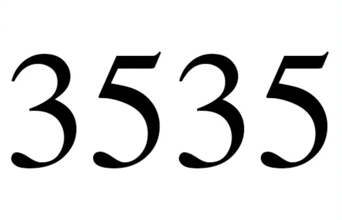 El número angelical 3535