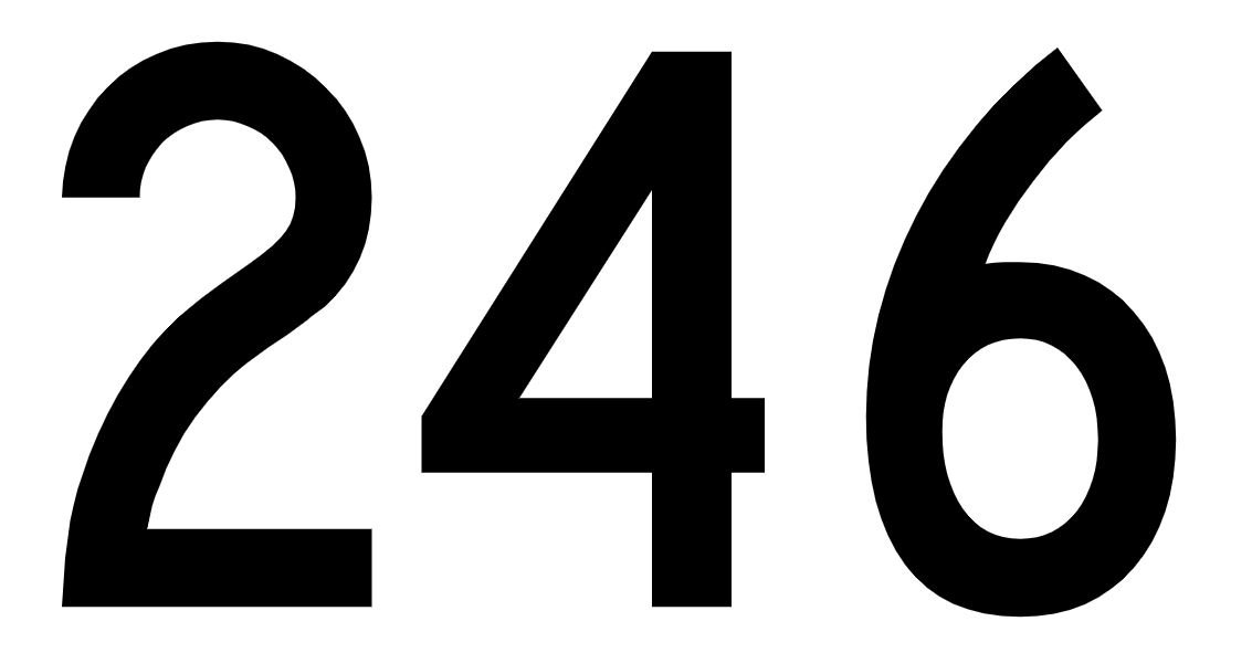 El número angelical 246