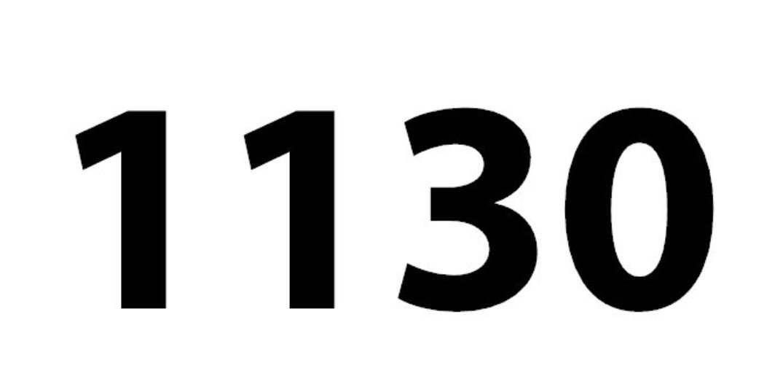 El número angelical 1130