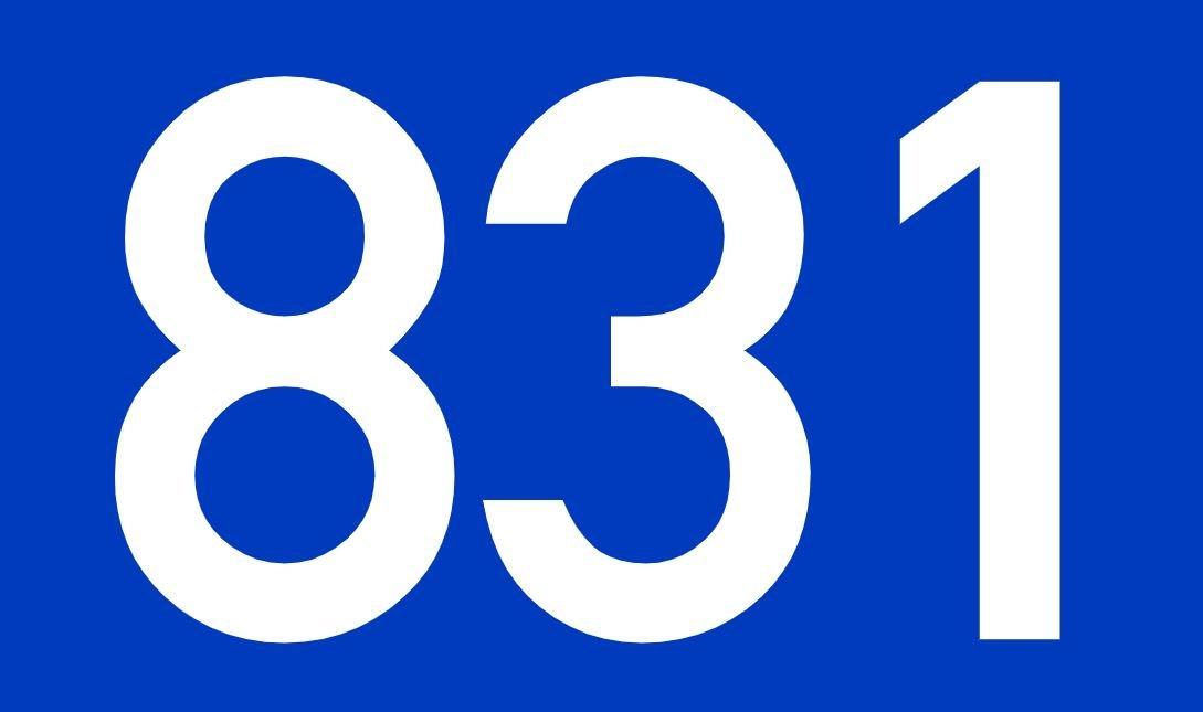 El número angelical 831