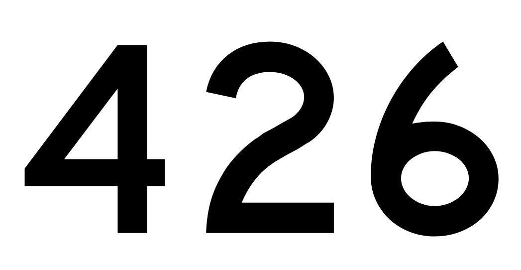 El número angelical 426
