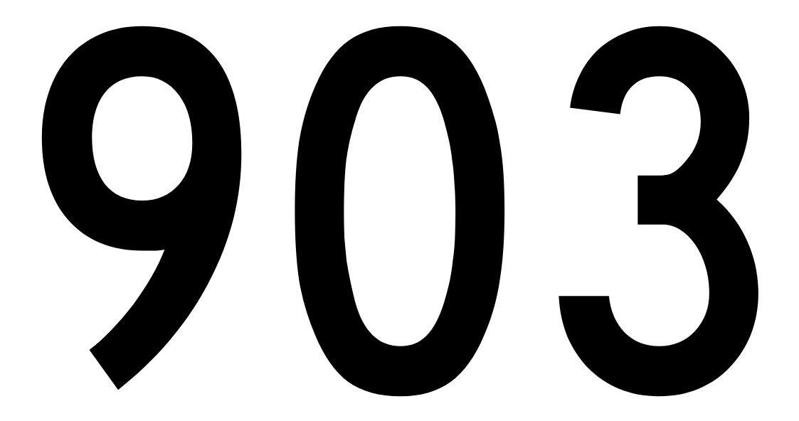 El número angelical 903