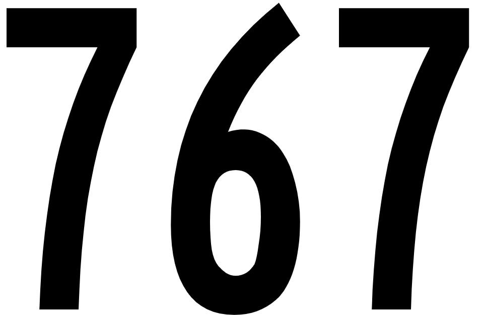 El número angelical 767