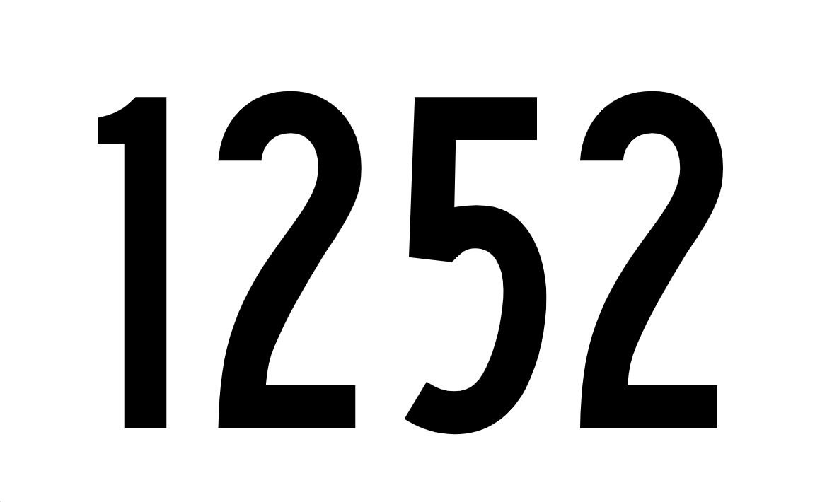 El número angelical 1252
