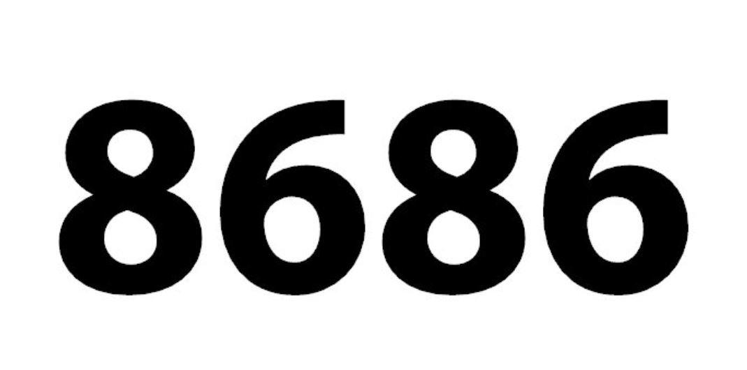 El número angelical 8686