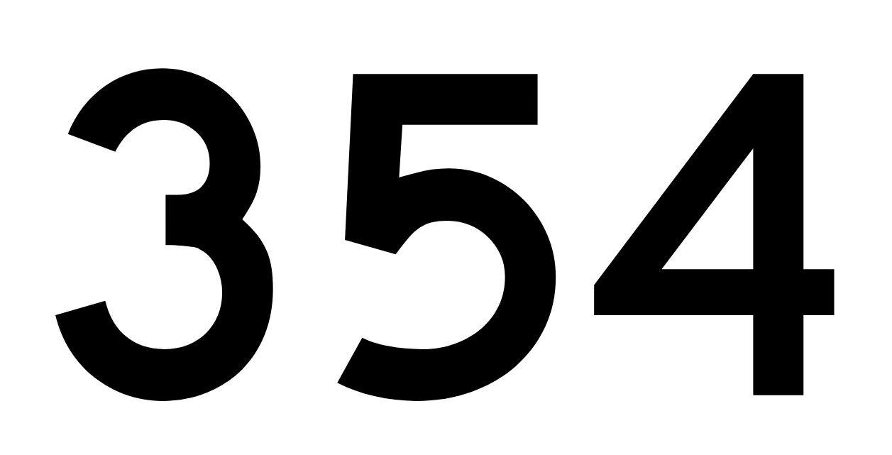 El número angelical 354