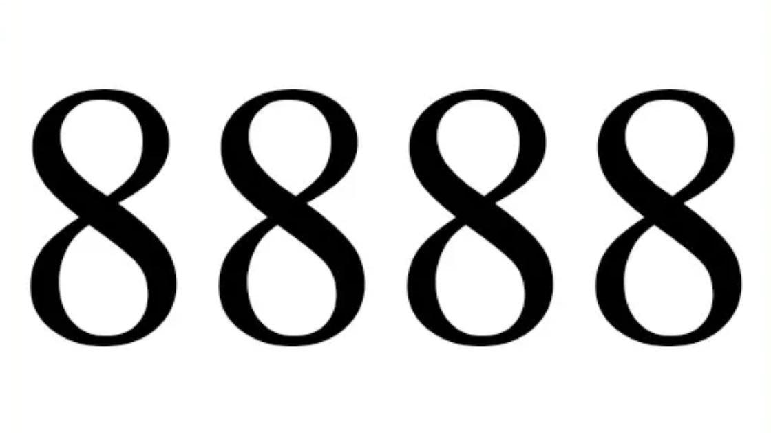 El número angelical 8888