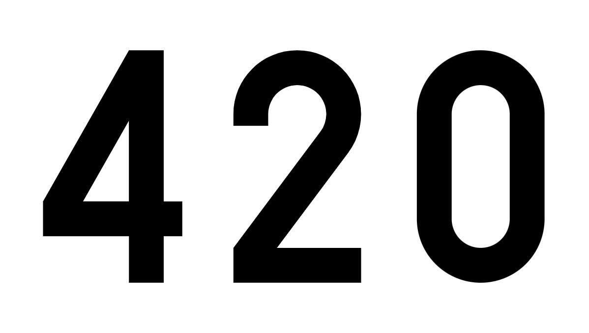 El número angelical 420