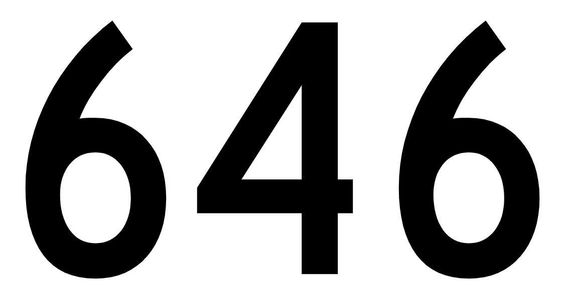 El número angelical 646