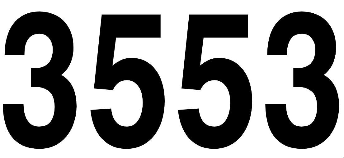 El número angelical 3553