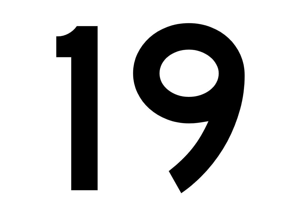 El número angelical 19